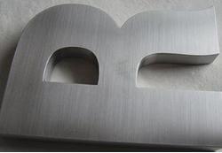 不锈钢平面字1