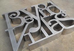 不锈钢平面字3