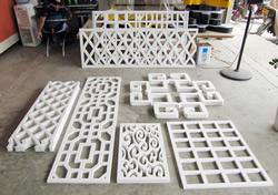 水晶字 PVC