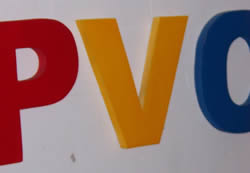 水晶字 PVC 1