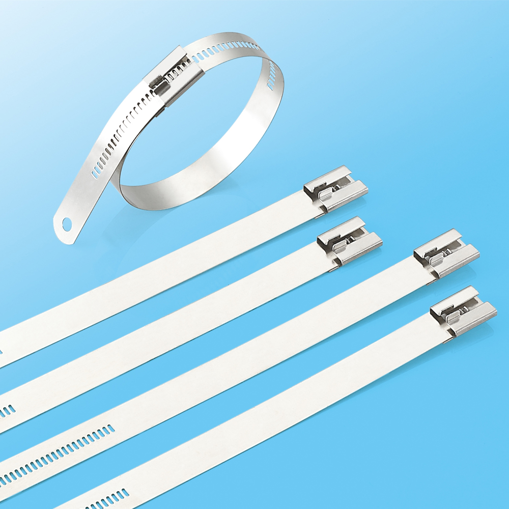 Naked SS304/SS316 Ladder Type Stainless Steel Cable Ties