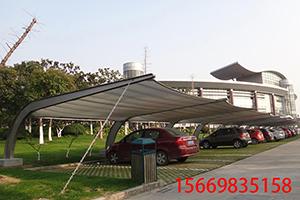 膜结构车棚-4