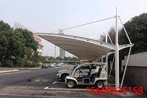 膜结构车棚-9