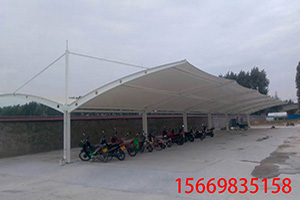 膜结构车棚-2