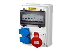 塑料电源插座箱