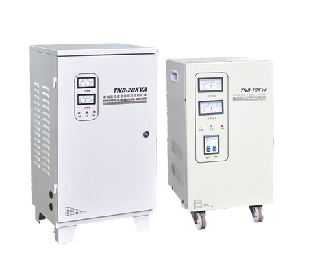TND(SVC)系列单项高精度全自动交流稳压器