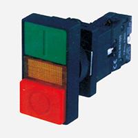XB2-EW8365双钮直接式带灯