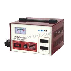 TND-500VA single-phase contact ac voltage stabilizer