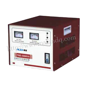 TND-5000VA single-phase contact ac voltage stabilizer