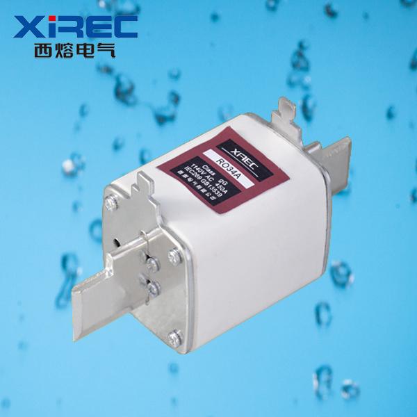 R034A 有填料方管刀型觸頭熔斷器(礦用)