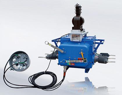 ZW20-12F户外高压真空断路器